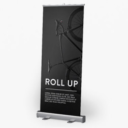Roll-Up Comfort Duo, System inkl. Druck